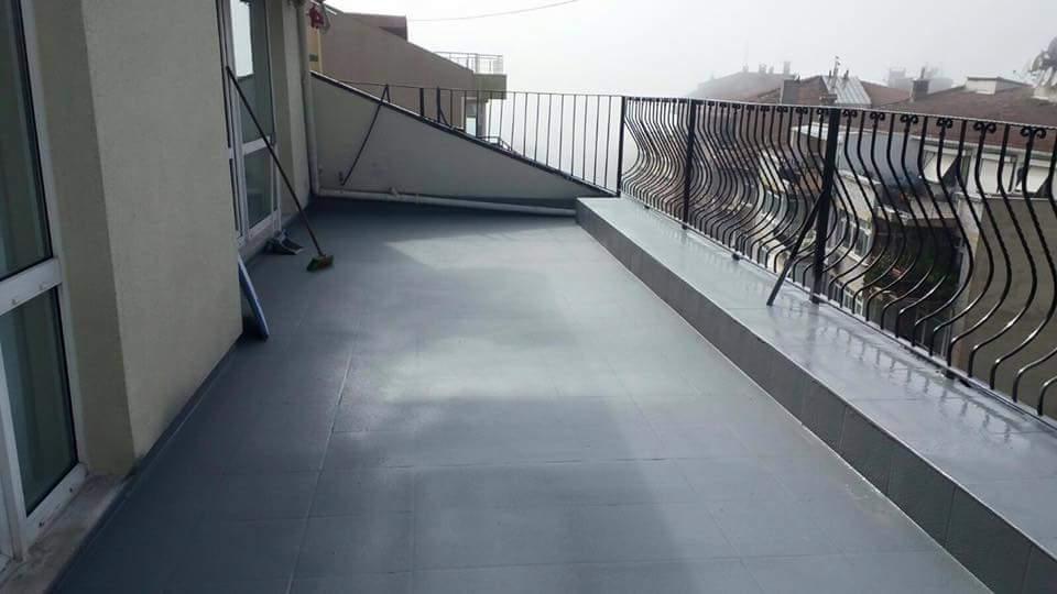 polyurea sprey teras su yalitimi