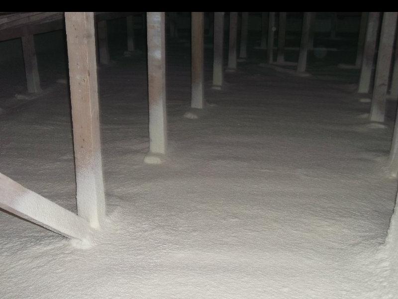 çatı arası zemin poliüretan uygulaması