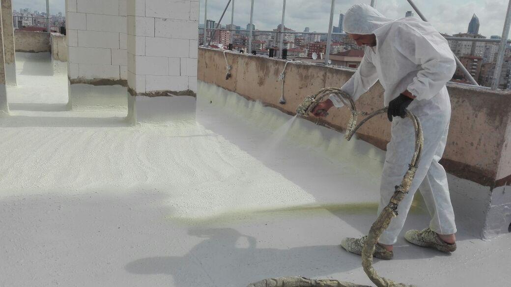 poliüretan açık teras izolasyonu