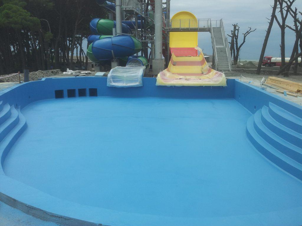 polyurea sprey havuz yalıtımı